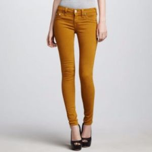 Joe's Jean 'The Skinny' in Mustard Brown